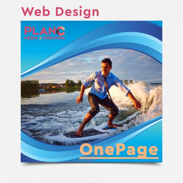 one page site planc media and creation