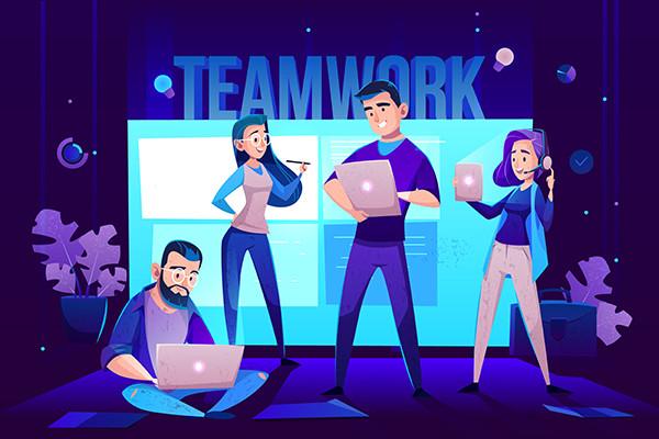 Η ομάδα της Plan C Media and Creation Διαφημιστικό γραφείο Λάρισα