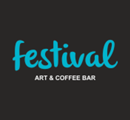 festival art & coffee bar logo