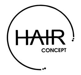 hair concept logo