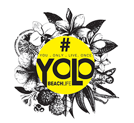 yolo beach bar logo