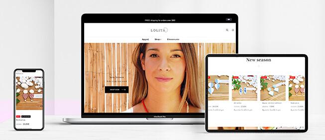 Κατασκευή e-shop lolitabylina.gr
